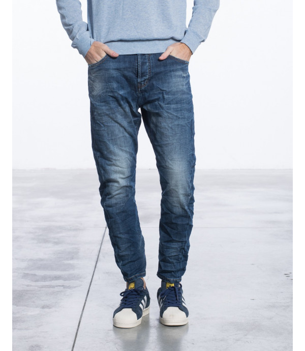 Jeans regular fit lavaggio stone wash