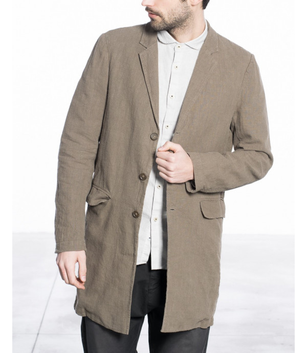 Cappotto in lino vintage