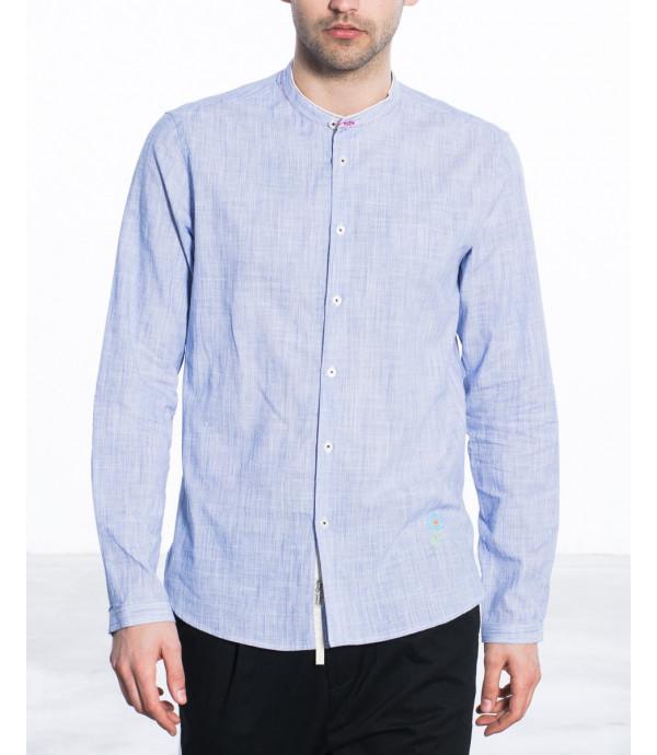 Camicia coreana in cotone
