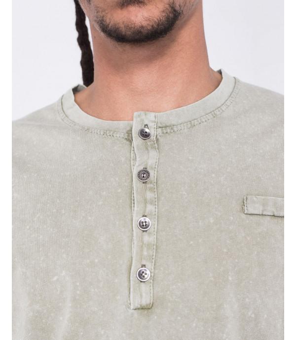 T-shirt collo serafino