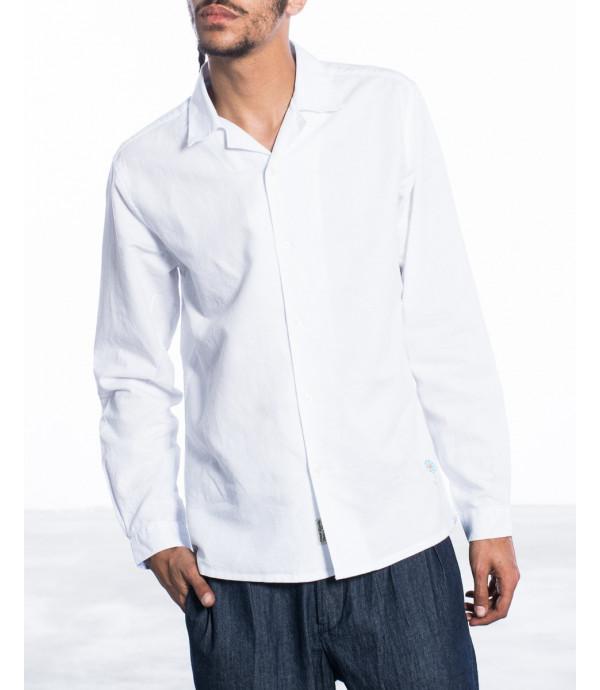 Camicia in misto lino