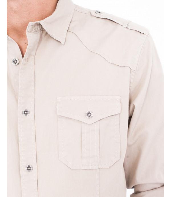 Camicia in stile militare