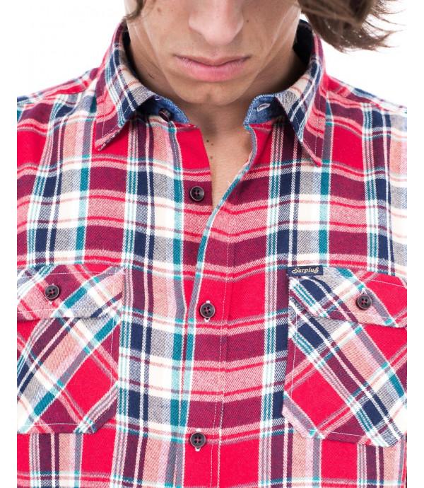 Camicia di flanella a quadri