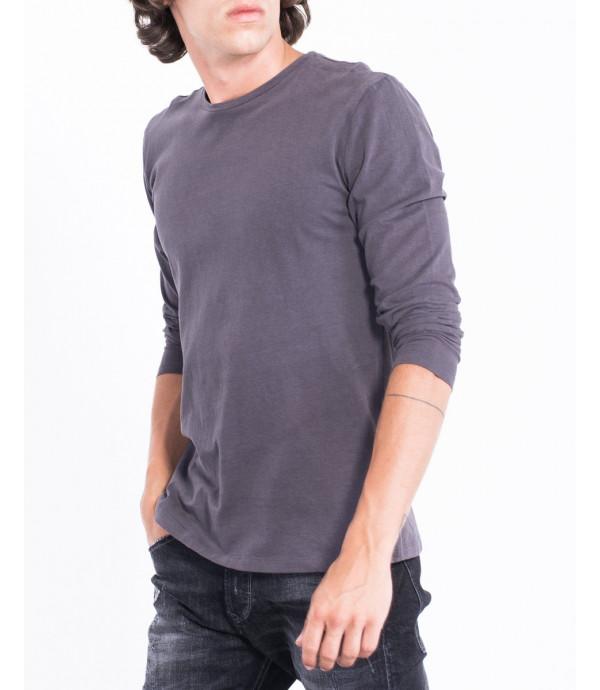 Maglietta basica a maniche lunghe
