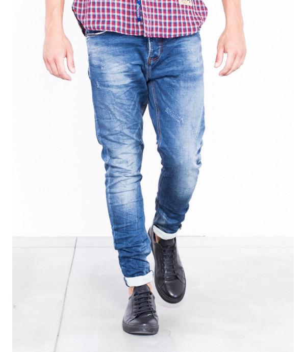 Jeans slim fit lavaggio vintage