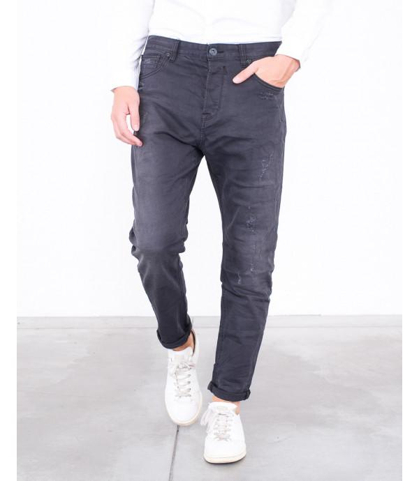 Jeans regular fit con graffi