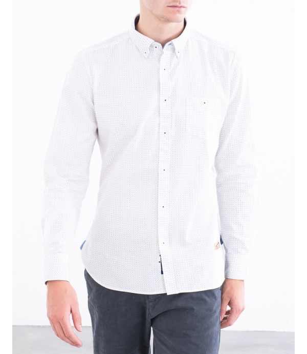 Camicia button down in fantasia