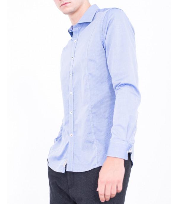 Camicia a pois di fil coupe