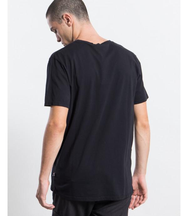 T-shirt con stampa e logo OUTCOME
