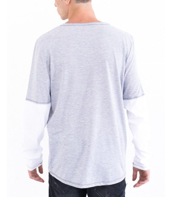 T-shirt maniche doppie