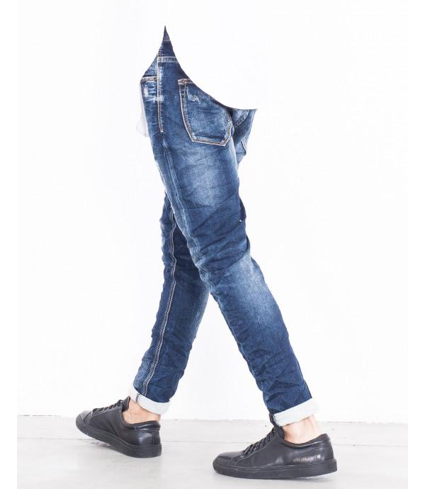 Jeans slim fit graffiati
