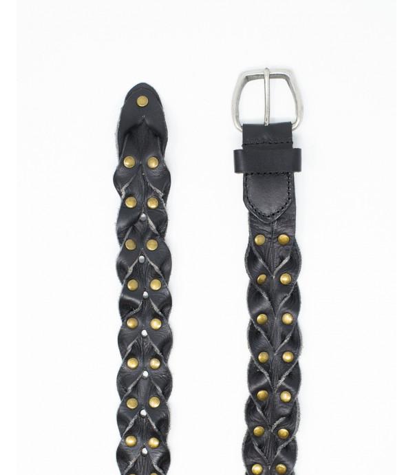 Cintura intrecciata slim