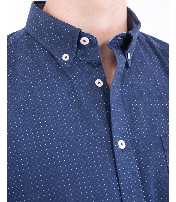 Camicia in microfantaisa