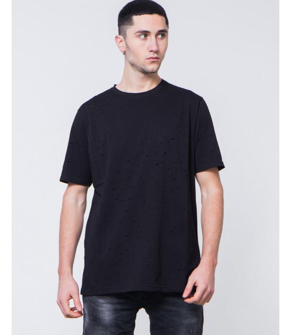 T-shirt con fori