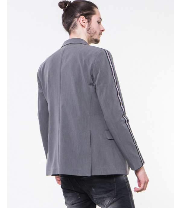 Giacca slim fit con bande