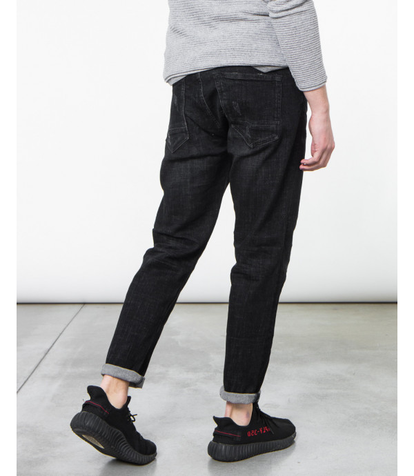 Jeans regular fit nero