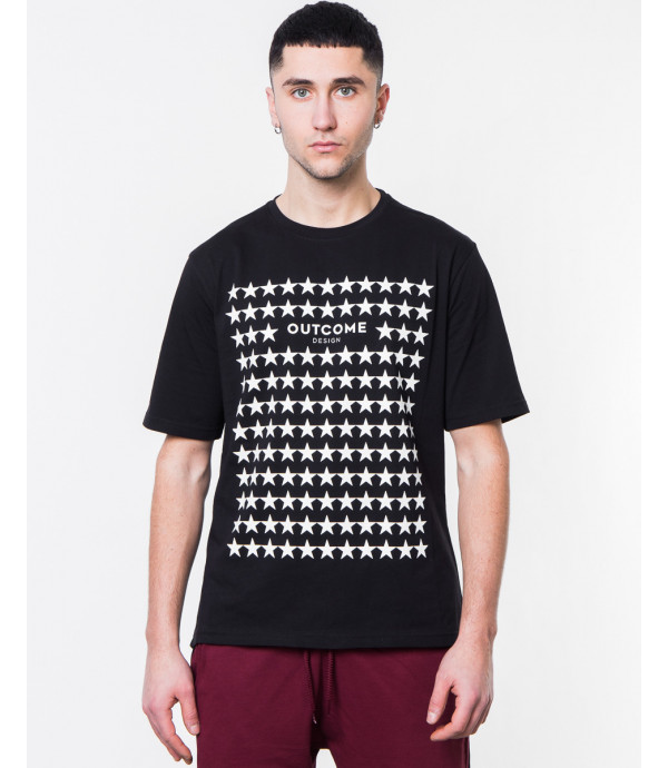 T-shirt con stampa OUTCOME