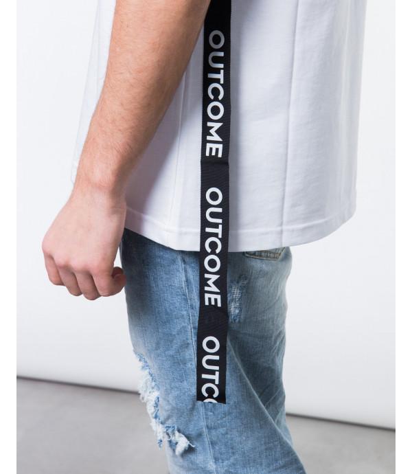 T-shirt con banda OUTCOME