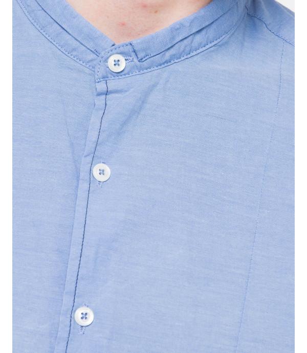 Camicia alla coreana in cotone