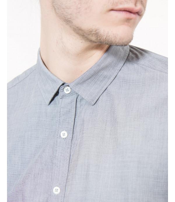 Camicia basica in cotone