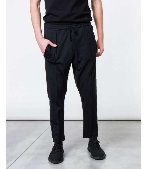 Pantaloni con banda bianca