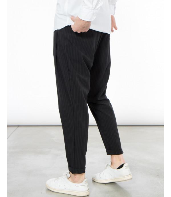 Pantalaccio gessatto comfort fit