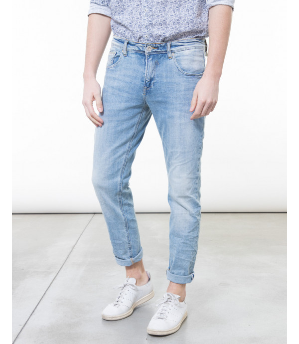 Jeans slavato regular fit