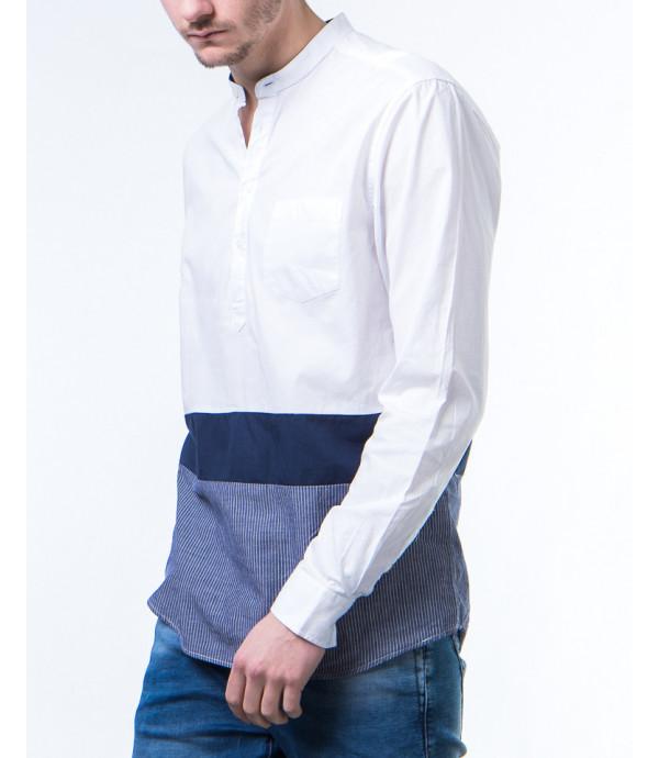 Camicia coreana a blocchi