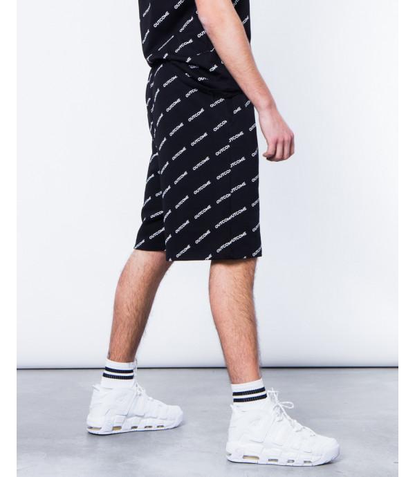 Shorts con stampa OUTCOME