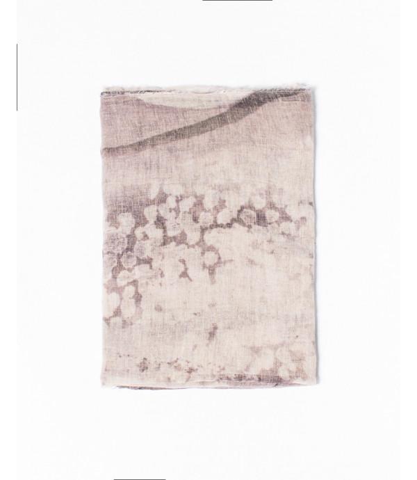 Foulard in misto lino