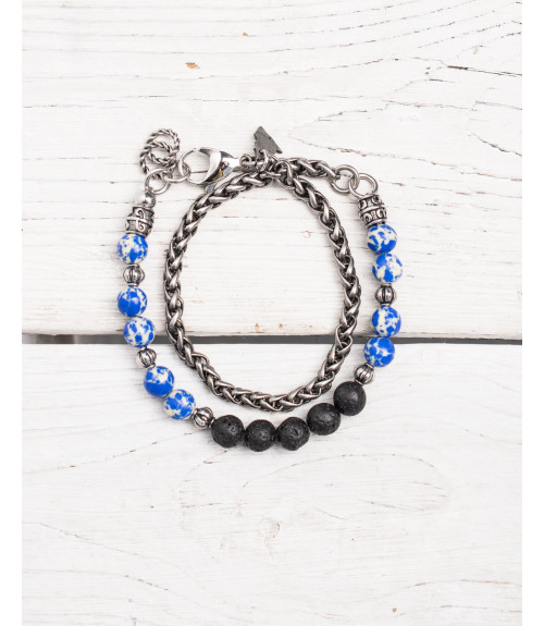 More about Chain and beads bracelet