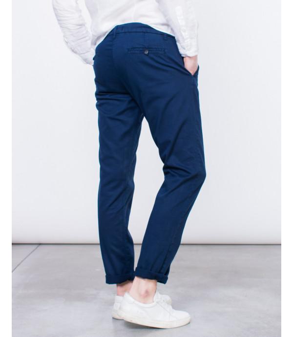 Pantaloni chinos texturizzati