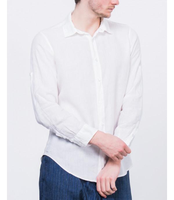Camicia di lino basica