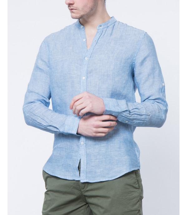 Camicia collo coreano