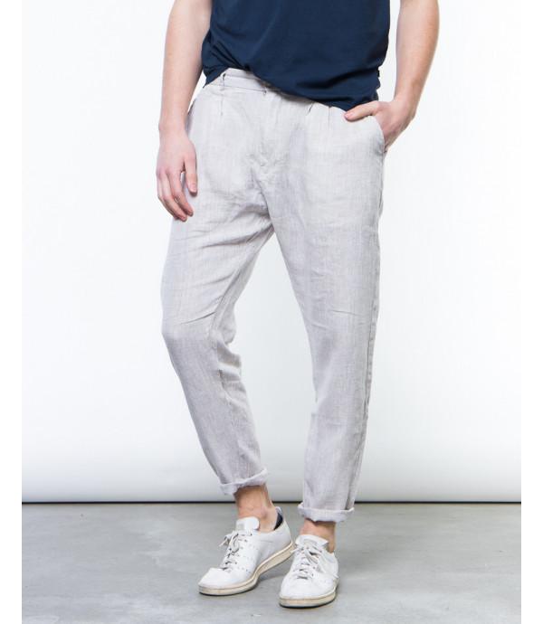 Pantaloni in lino comfort fit