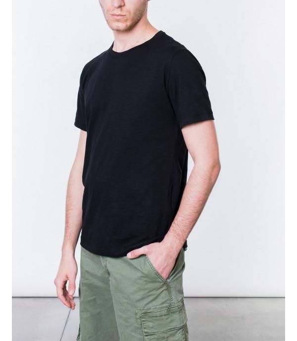 T-shirt basica melangiata