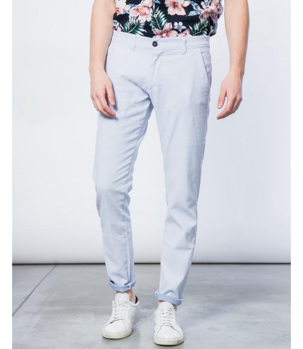 Pantaloni chino texturizzati