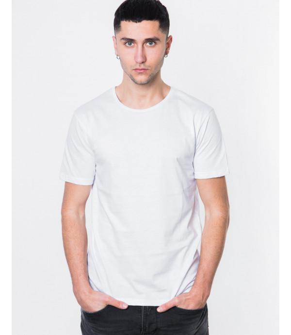 T-shirt con stampa su retro