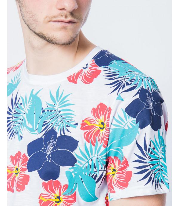 T-shirt fantasia hawaiiana