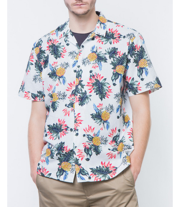 Camicia hawaiana a fiori