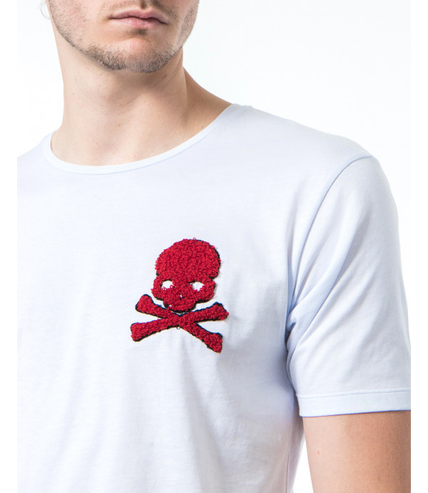 T-shirt con patch