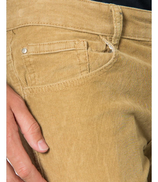 Pantaloni in velluto a coste slim fit
