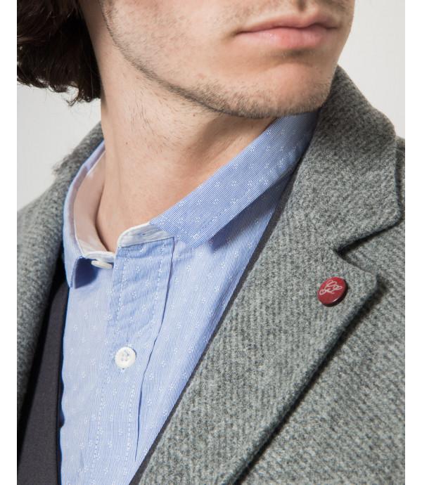 Cappotto in tessuto texturizzato