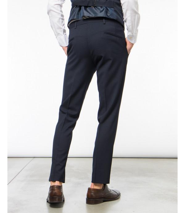 Pantalone elegante in fantasia