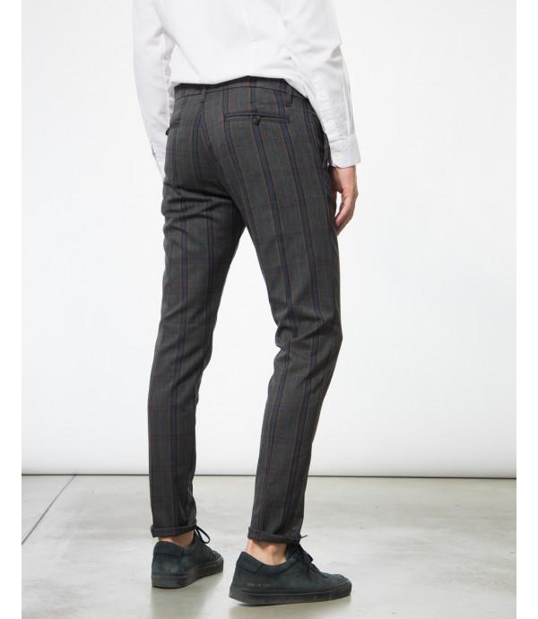 Pantaloni tailored fantasia tartan