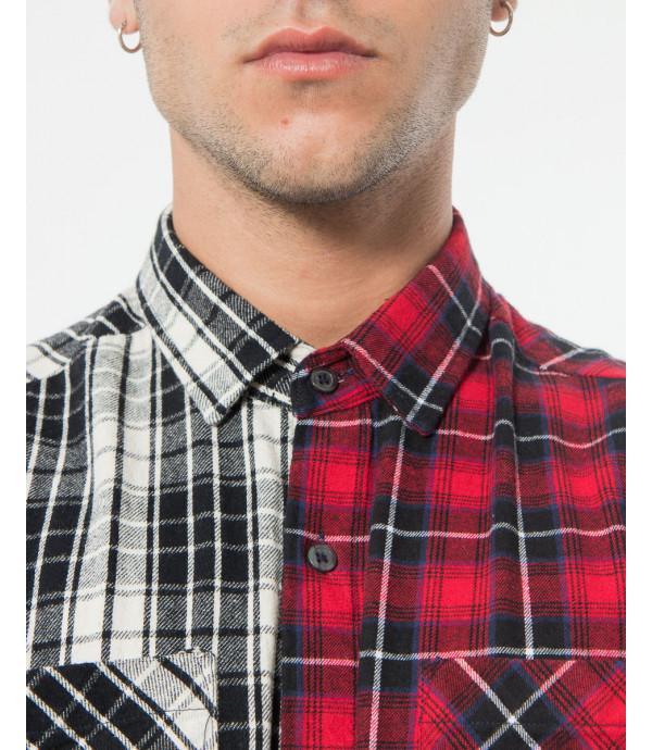 Camicia con meta diverse