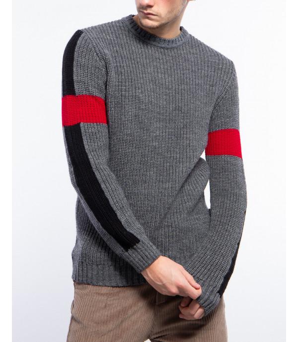 Maglione manicche colour block OUTCOME