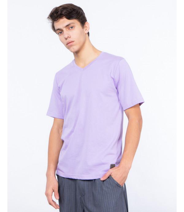 T-shirt con scollo a V premium basic