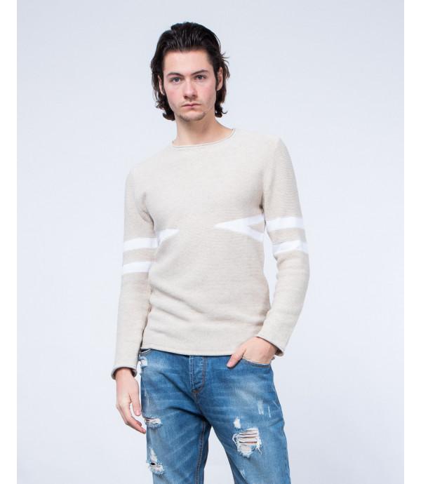 Geometric pattened sweater