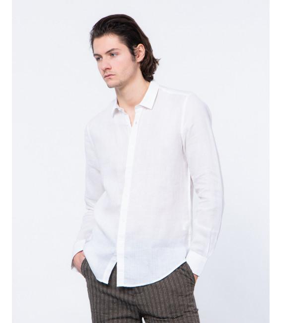 c7f94a947c38 Slim fit linen shirt giannilupo